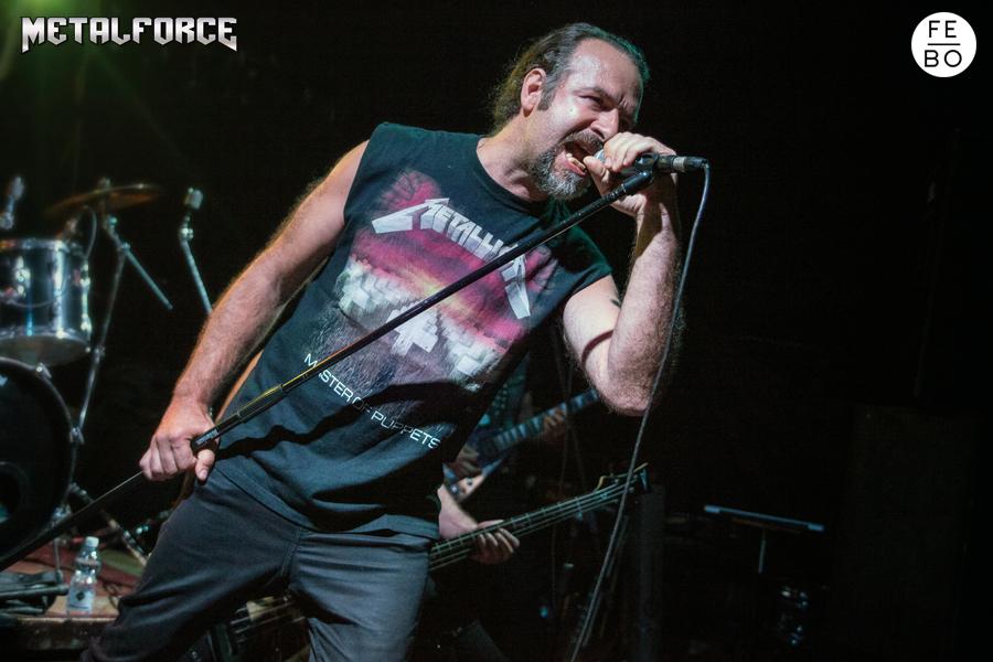 ANGUISH FORCE Efesto Metal Bresso 11 - KINNALL - vocals - band