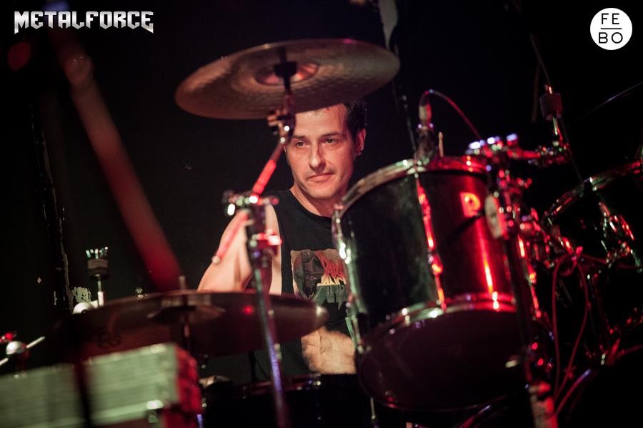 ANGUISH FORCE Efesto Metal Bresso 15 - PEMMEL - drums - band