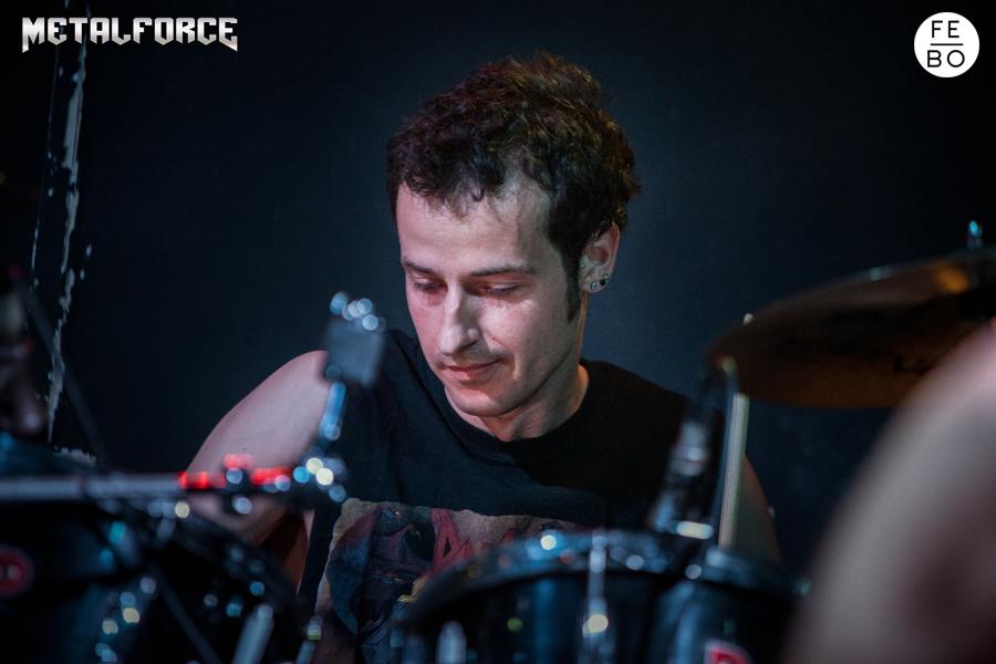 ANGUISH FORCE Efesto Metal Bresso 9 - PEMMEL - drums - band