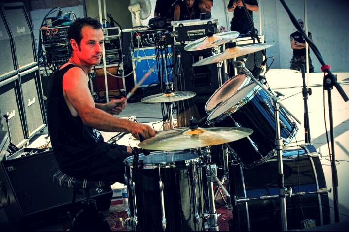 Anguish Force Metal Diversamente Rock Milano 25 - PEMMEL - drums - band-
