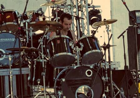 Anguish Force Metal Diversamente Rock Milano 27 - PEMMEL - drums - band-