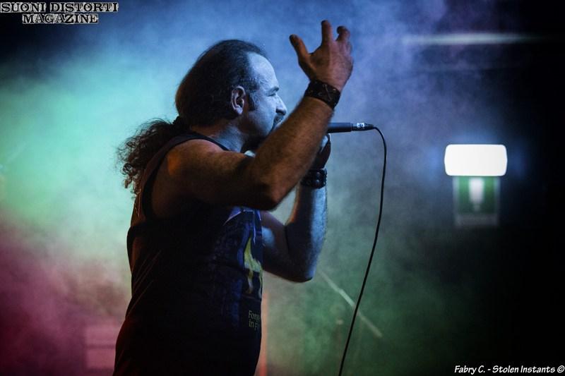 Anguish Force Pavia Dagda20 - KINNALL - vocals - band
