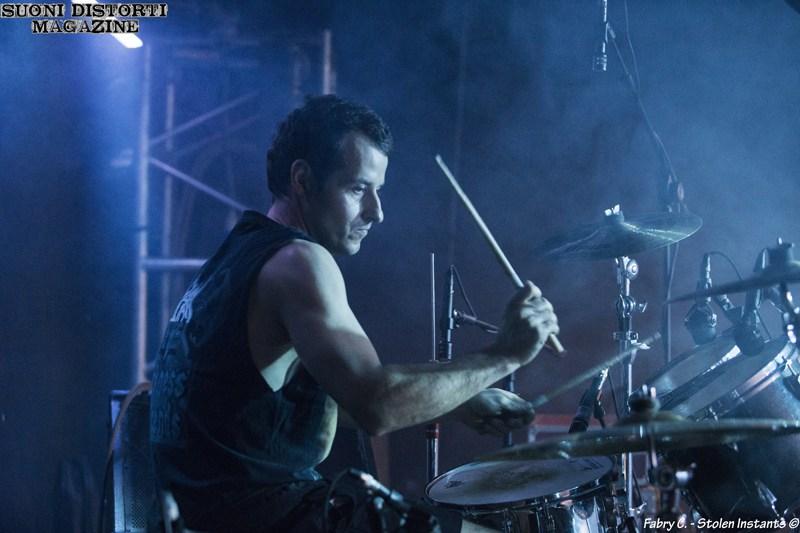 Anguish Force Pavia Dagda25 - PEMMEL - drums - band-