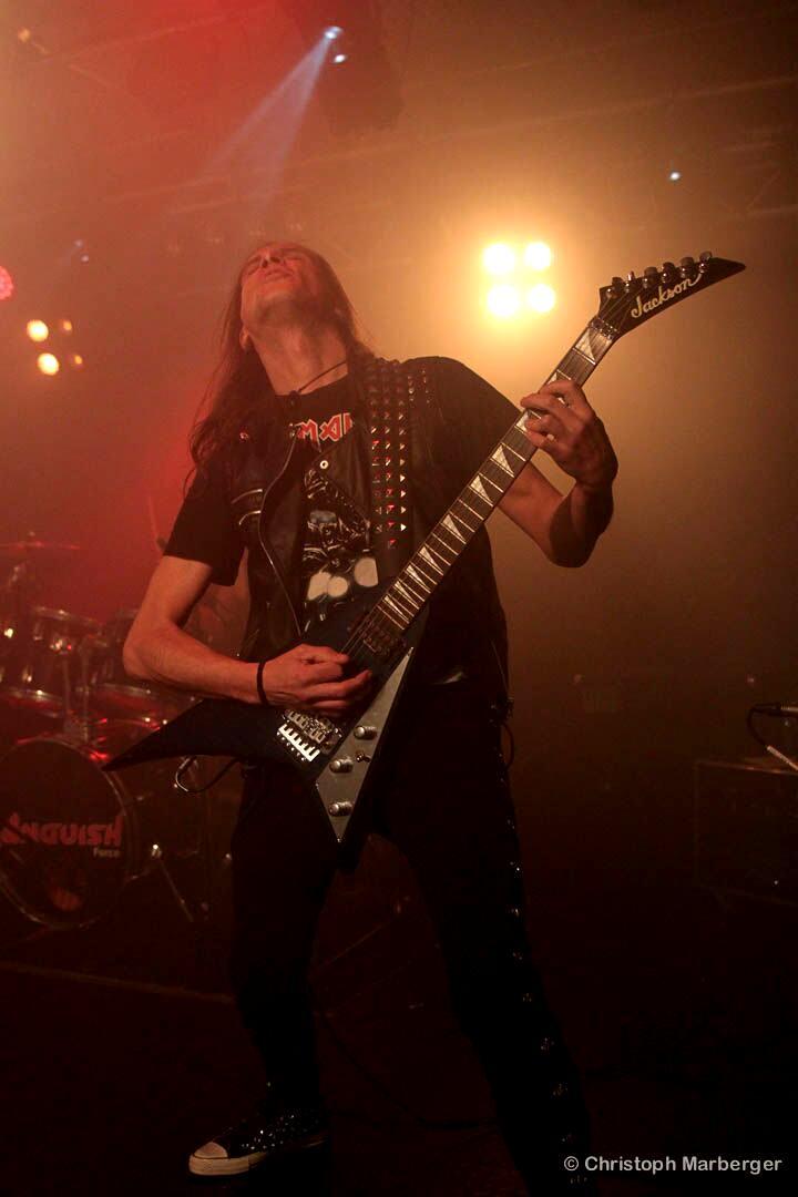 Luck Az Anguish Force Livestage 11 - LUCK AZ - guitar - band