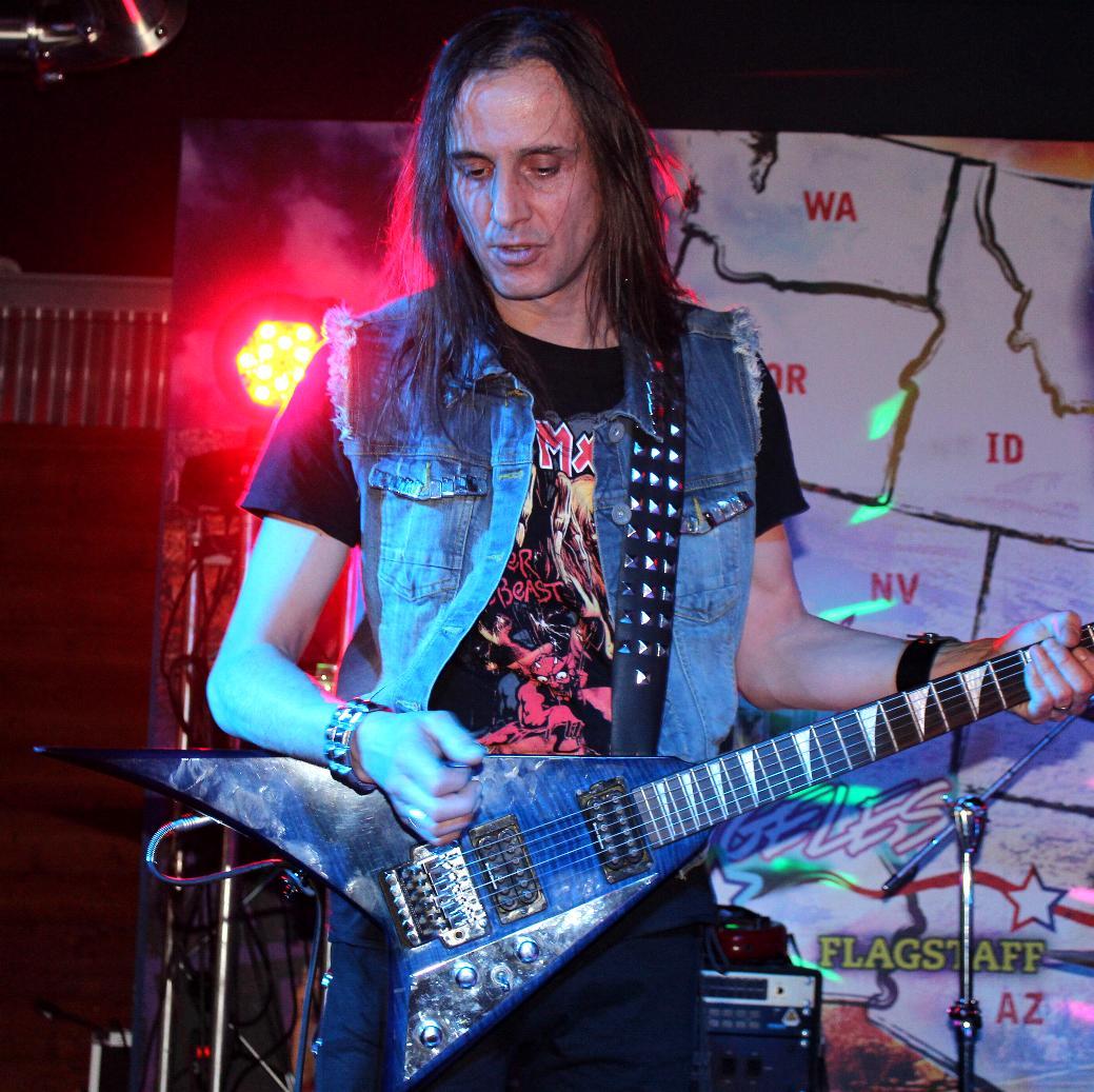 Luck Az Anguish Force 2018 gasoline05 - LUCKAZ - guitar - -