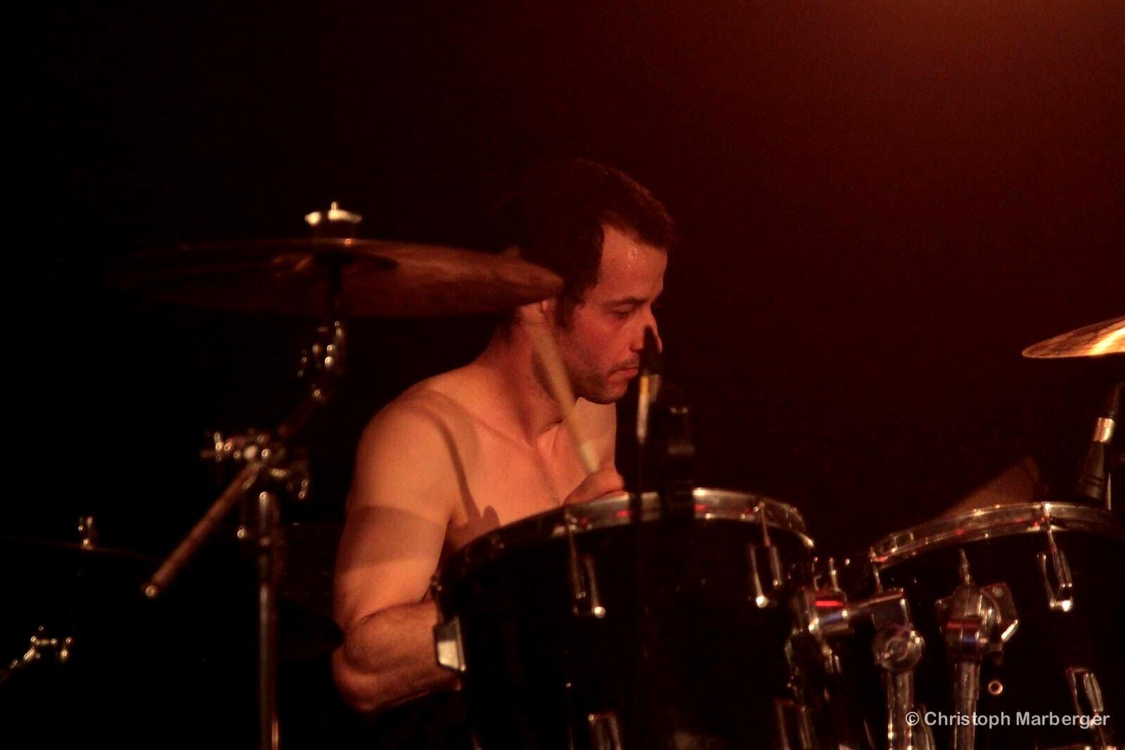 Pemmel Anguish Force Livestage 39 - PEMMEL - drums - band