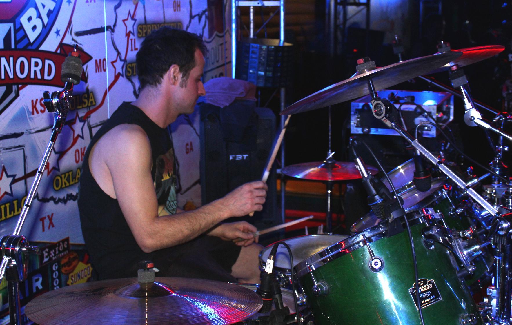 Pemmel Anguish Force 2018 gasoline02 - PEMMEL - drums - band