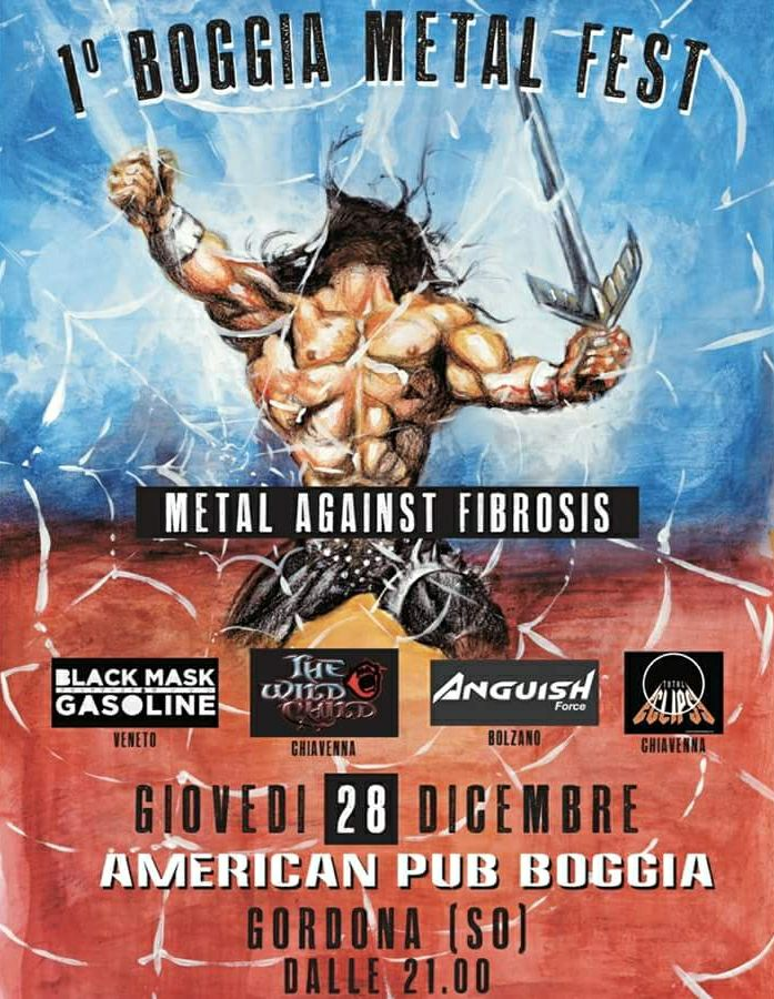 anguish force boggia sondrio metal - Flyers - others