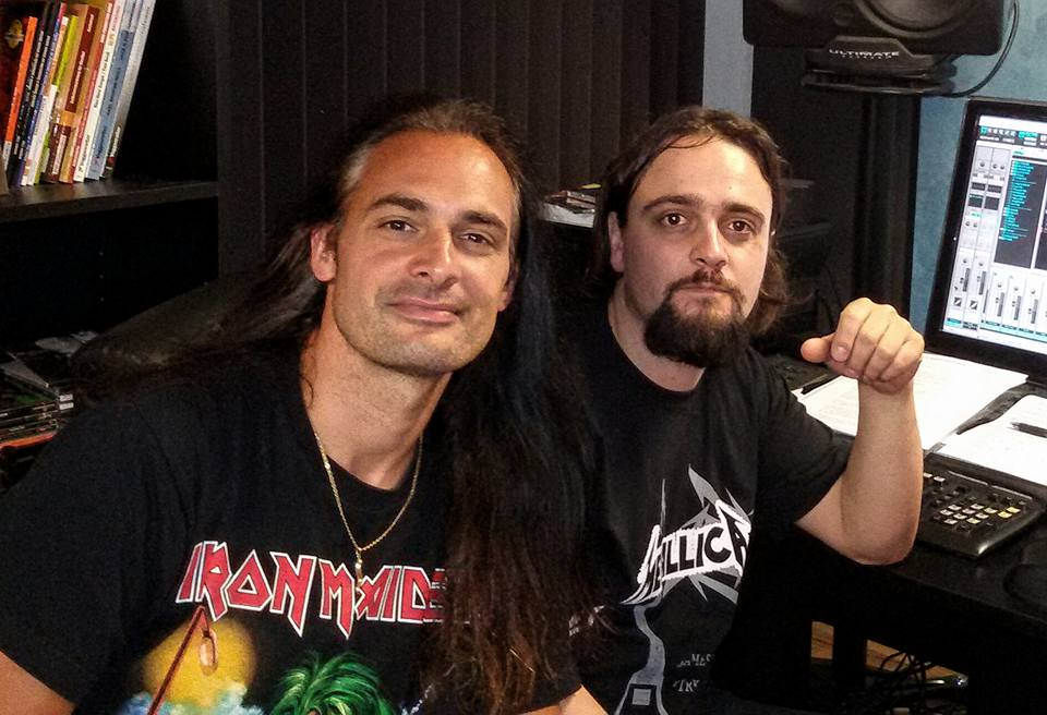 anguish force studio recording lgd kinnall metal 11 - Studio - others