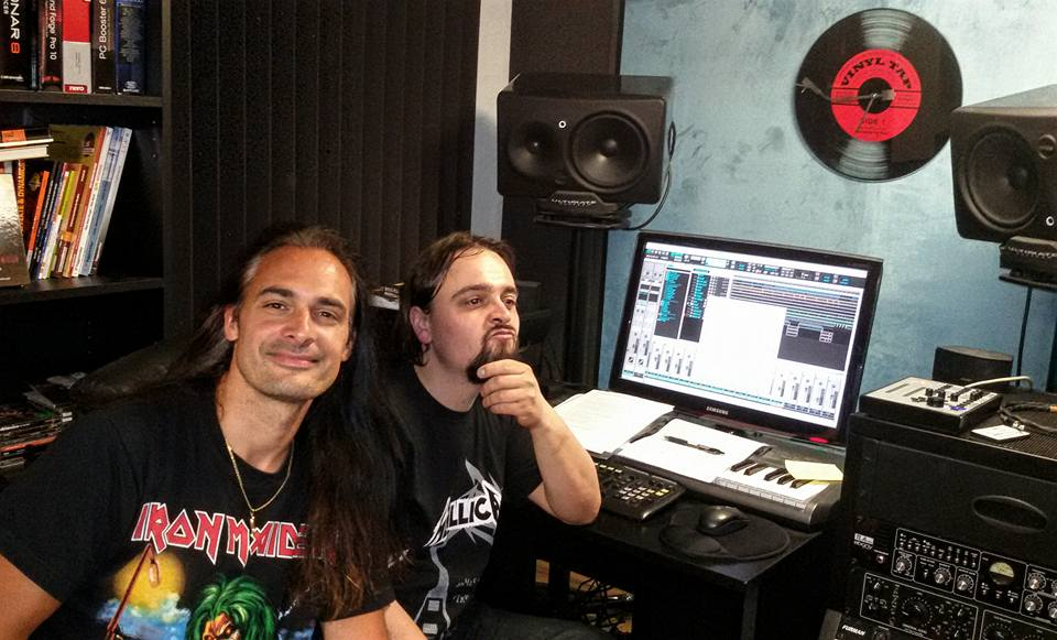 anguish force studio recording lgd kinnall metal 2 - Studio - others