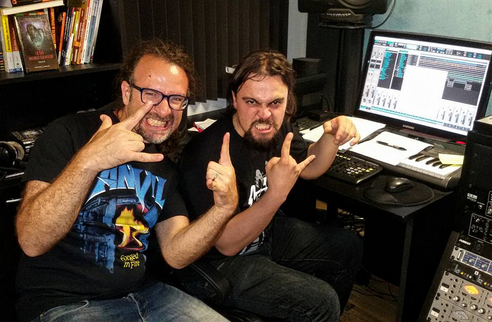 anguish force studio recording lgd kinnall metal 4 - Studio - others