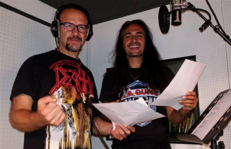 anguish force studio recording lgd kinnall metal 7 - Studio - others