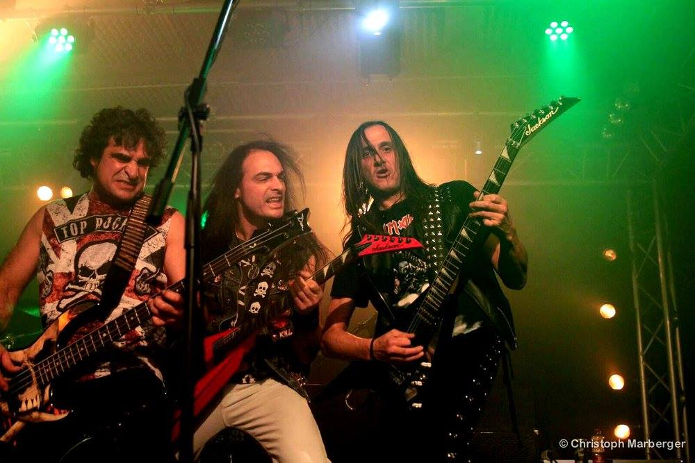 Anguish Force Live Austria 3 - Raining Blood Night - Livestage Innsbruck - live