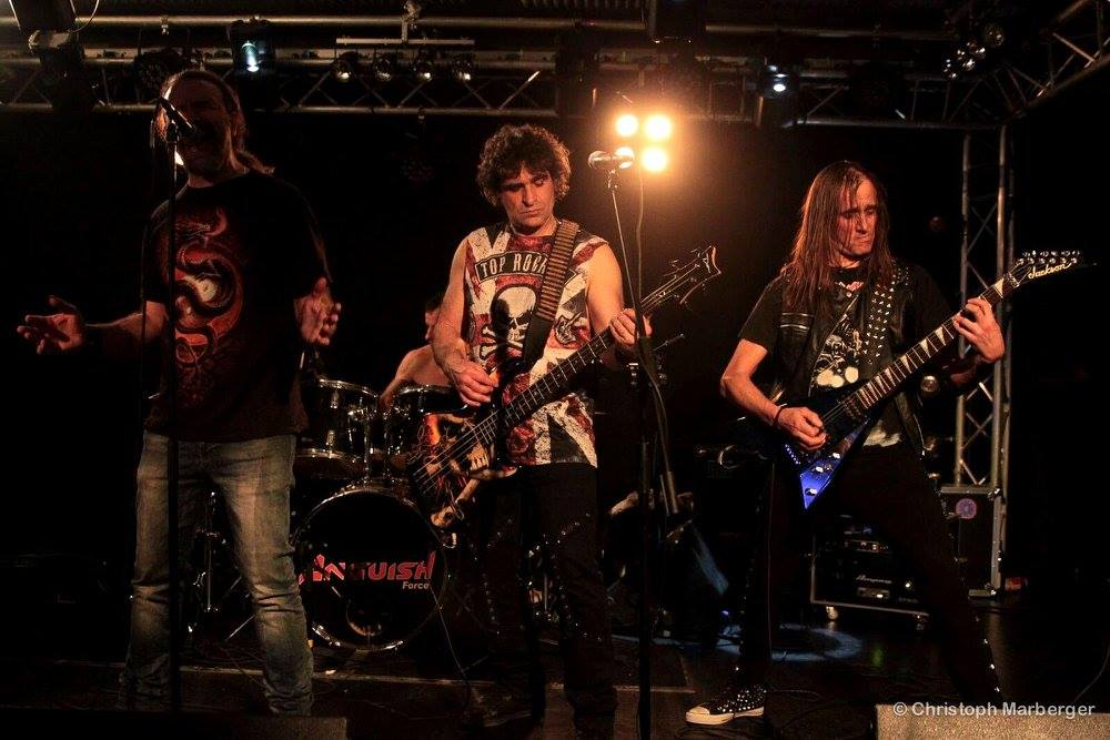 Anguish Force Live Austria 8 - Raining Blood Night - Livestage Innsbruck - live