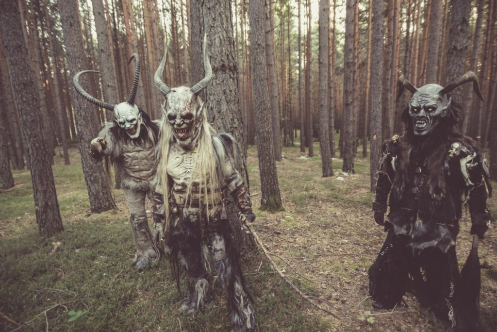 "Anguish Force Krampus making of 3 1024x684 - NEW EP & Videoclip ""Krampus"" Now available! - news-news-"