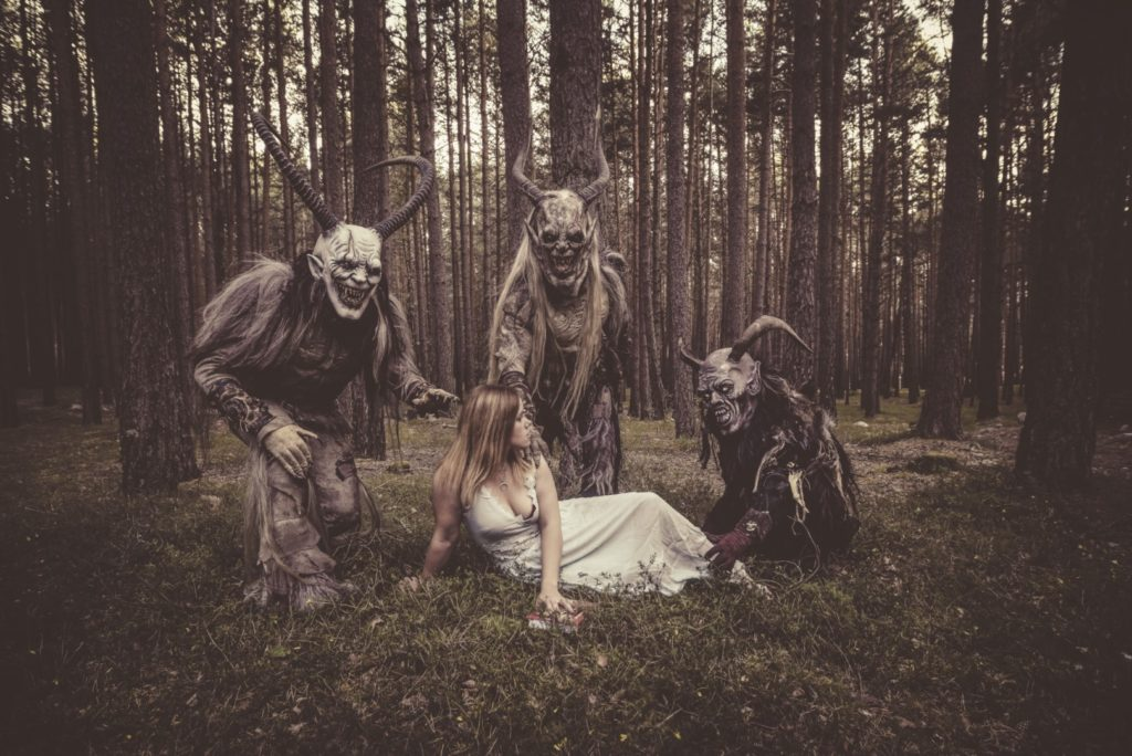 "Anguish Force Krampus making of 4 1024x684 - NEW EP & Videoclip ""Krampus"" Now available! - news-news-"