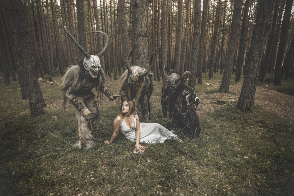 "Anguish Force Krampus making of 5 1024x684 - NEW EP & Videoclip ""Krampus"" Now available! - news-news-"