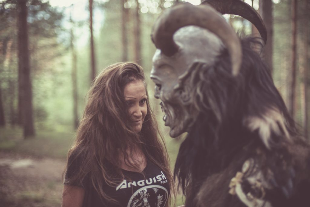"Anguish Force Krampus making of 6 1024x684 - NEW EP & Videoclip ""Krampus"" Now available! - news-news-"
