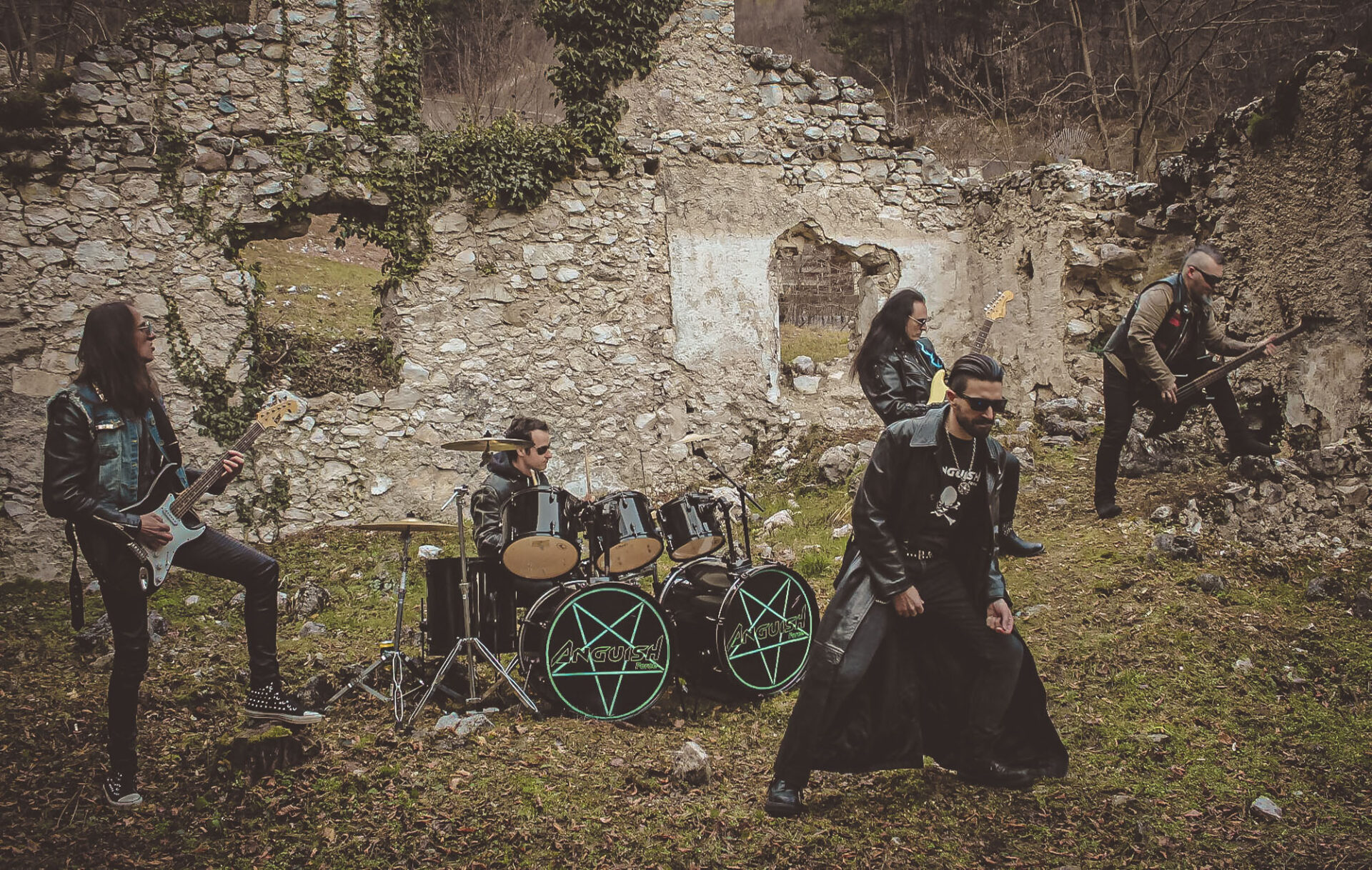 Anguish Force Mezzolombardo 10 - The Witch strikes back - Making of - live-