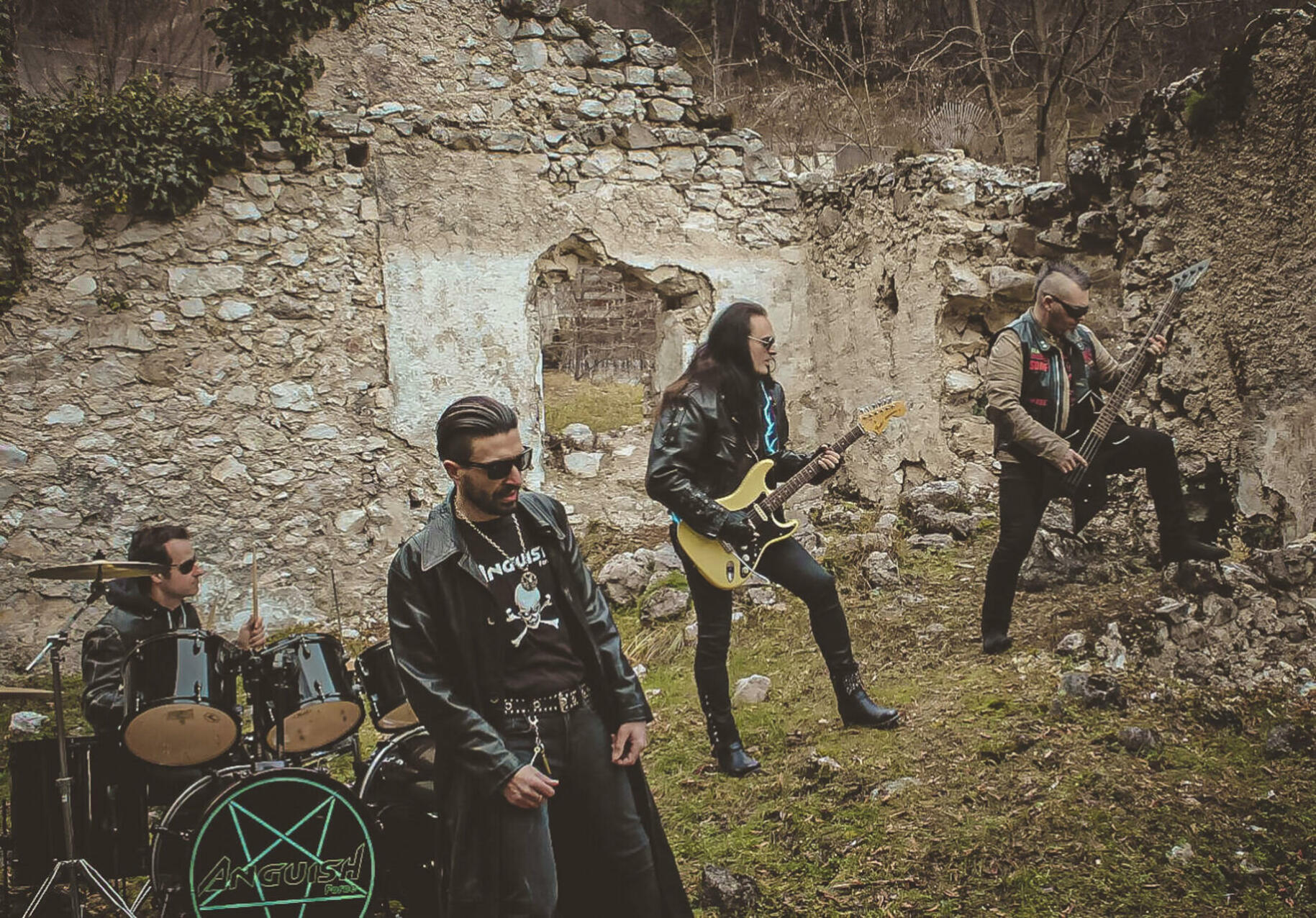 Anguish Force Mezzolombardo 15 - The Witch strikes back - Making of - live-