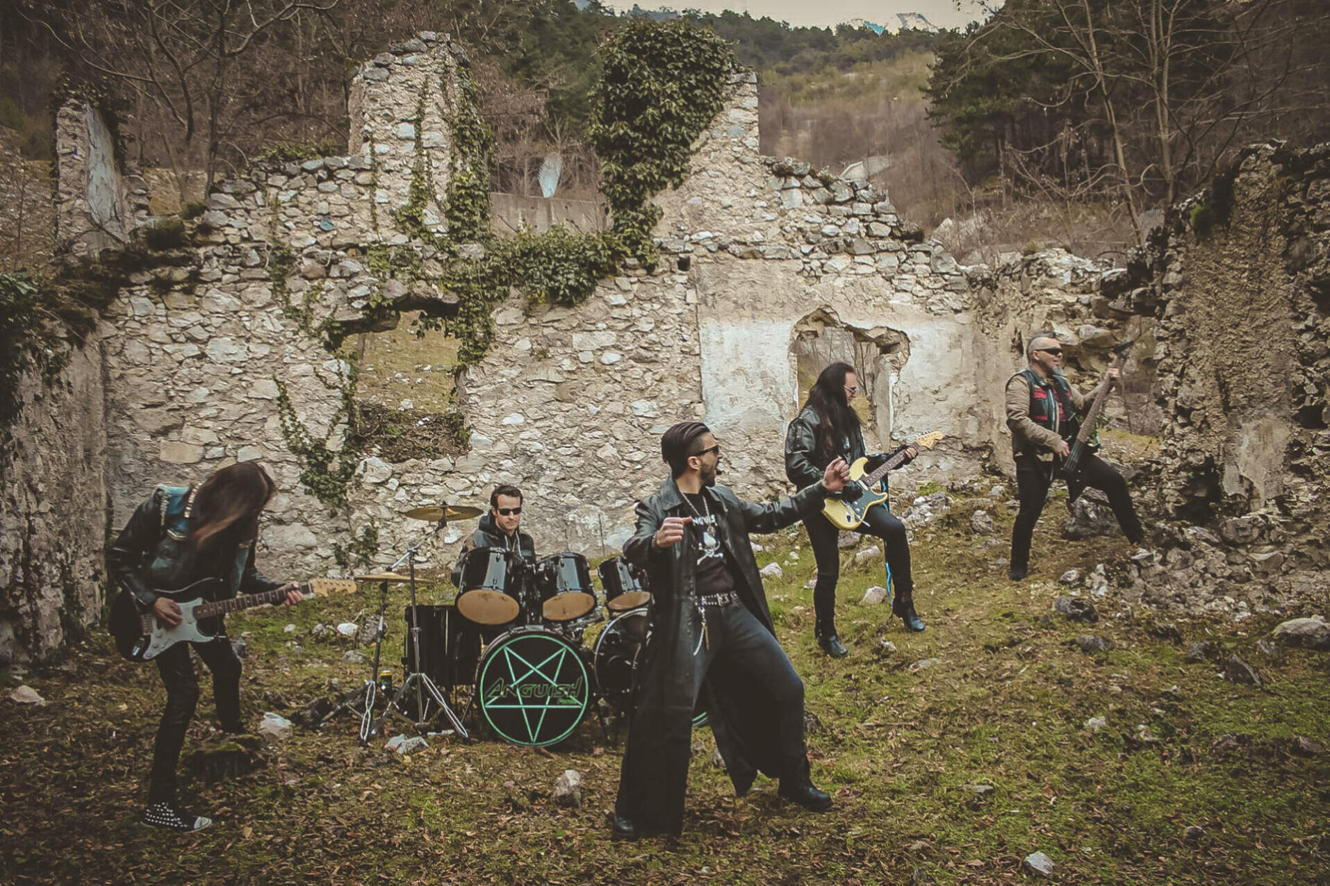 Anguish Force Mezzolombardo 3 - The Witch strikes back - Making of - live-